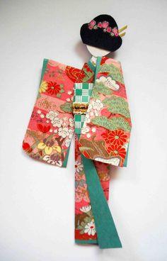 """Résultat de recherche d'images pour """"kimono kirigami"""""""