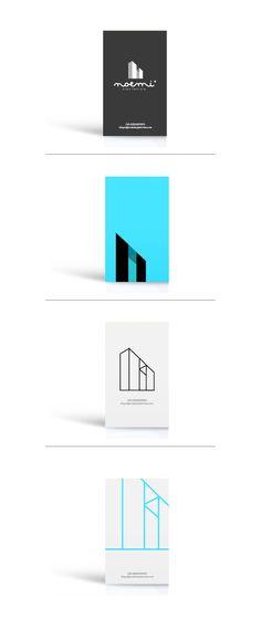 Logotipo / Arquitectura/ Tarjetas de presentación by Jordy Pérez, via Behance
