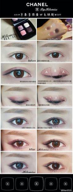 Asian Makeup Looks on Pinterest | Asian Make Up, Korean ...