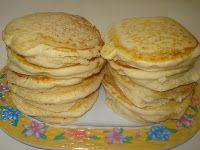 These waffles and pancakes are fluffy and perfect. We love these reheated from the freezer for a quick breakfast. These waffles also work gr...