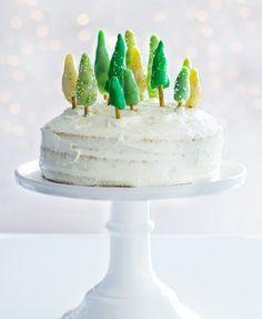 Weihnachtsbaum-Torte