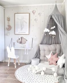 Inspiration pastel girls room ideas, pink and grey girls room design, girls kidsroom, kidsroom decor. Pastel Girls Room, Grey Girls Rooms, Little Girl Rooms, Pink Room, Girls Bedroom Pink, Baby Room Ideas For Girls, Childrens Bedrooms Girls, Pink And Grey Room, Pink White