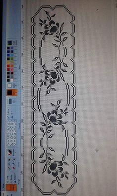 Crochet Border Patterns, Crochet Bikini Pattern, Crochet Pillow Pattern, Crochet Bedspread, Crochet Squares, Crochet Designs, Crochet Doilies, Cross Stitch Angels, Cross Stitch Borders