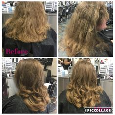 180 long layers. Products used Wella perfect me thermal image and Nioxin bodifying mousse. 8/10/16