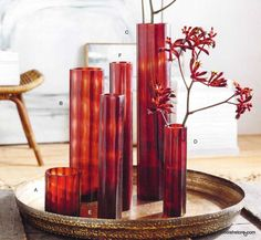 Roost Crimson Cut Glass Collection