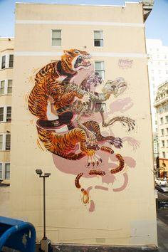 by Nychos #streetart