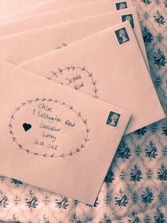 This morning I sent out our wedding Invitations, so exciting!! Can't wait for our Friends and Family to RSVP!!