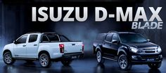 Isuzu D-MAX BLADE! We love the new edition! what do you think? http://www.allelectric.co.uk/ #blade #isuzu