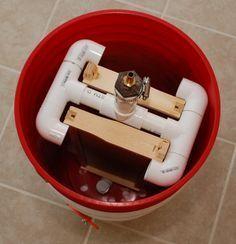 DIY Drill Powered Honey Spinner