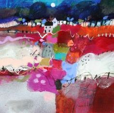 Here's an idea...make dedicated squares/fields of solid or slightly blended color ~ Emma Davis - Patchwork Fields