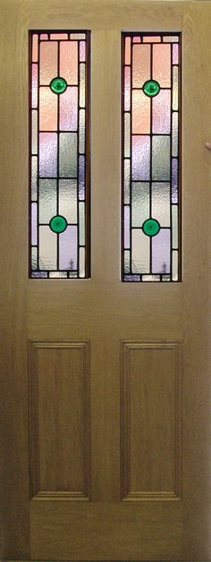 stained glass panels above doors - Google Search