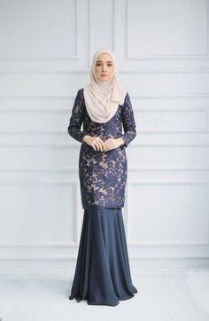 31 Ideas Dress Hijab Brokat Party For 2019 - 6 desain dress Hijab ideas Dress Muslim Modern, Kebaya Modern Dress, Kebaya Dress, Dress Pesta, Model Kebaya Brokat Modern, Dress Brukat, Hijab Dress Party, Hijab Evening Dress, Batik Dress
