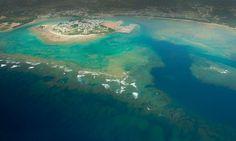 Okinawa: a very large aquarium for swimming
