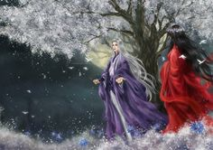 . Hot Anime Couples, Anime Love Couple, Cute Couples, Chinese Drawings, Chinese Art, Eternal Love Drama, Chinese Wallpaper, Couple Painting, Fantasy Drawings