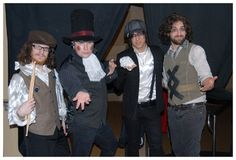 Fall Out Boy dressed up as Panic! At The Disco OMG I LOVE THIS SO MUCH!!!