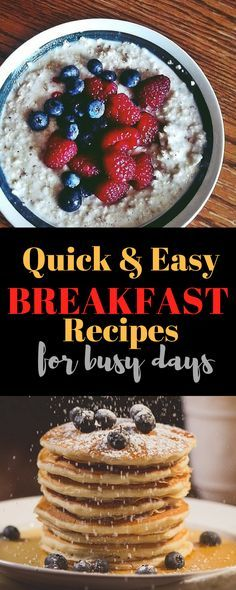 10 Easy Breakfasts That You Can Make Ahead of Time