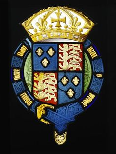 Royal Arms, early 16th century.