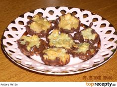 Mandlové placičky Muffin, Breakfast, Food, Morning Coffee, Essen, Muffins, Meals, Cupcakes, Yemek