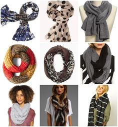 Fall Fashion: 9 Must Own Scarves