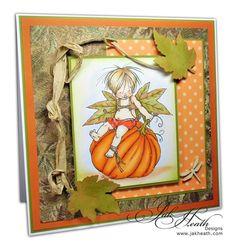 Fall Fairy Jesen by Mo's Digital Pencil