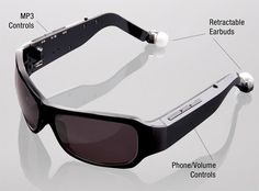 2. TriSpecs Headphone Sunglasses