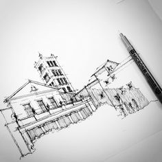 Just a quick travel sketch   Flickr - Photo Sharing!