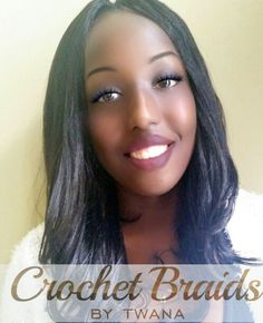 yaky pony crochet braids with a knotless middle part www crochetbraids ...
