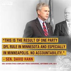 Sooner or later the Minnesota Taxpayer is going to be overwhelmed by evidence of a Criminal Enterprise operated in part by (or in concealment thereof) the Minnesota DFL Party and will have to decide ENOUGH IS ENOUGH!
