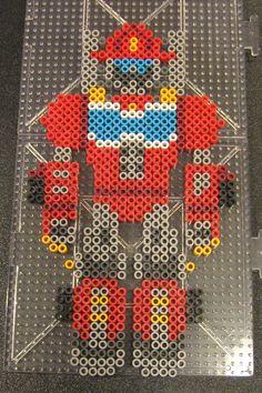 Heatwave - Transformers Rescue Bots perler beads by Flood7585