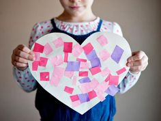 Cool project from www.kiwicrate.com/thestudio: Heart Mosaics