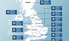 Family history website Ancestry found the average person in the UK is just 37 per cent Anglo-Saxon, but people in Yorkshire owe 41 per cent of their genetic makeup to the Anglo-Saxons.