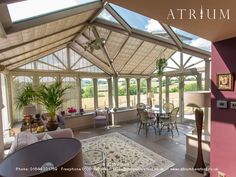 another hardwood conservatory from Atrium