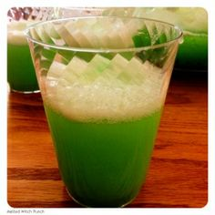 melted witch punch with recipe