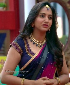 Hottest Pic, Telugu, Anchor, Tv Shows, Boss, Cute Outfits, Sari, Celebs, Actresses