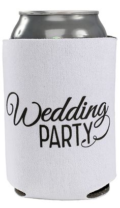 1000 Images About Wedding Party Koozies On Pinterest