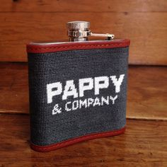 Pappy & Company Needlepoint Flask | Pappy & Company