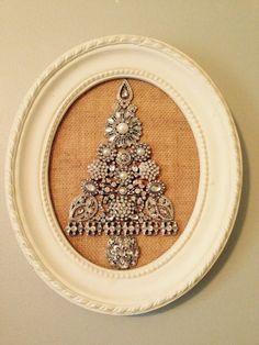 Jewelry Christmas Tree by FreeToFlourish on Etsy