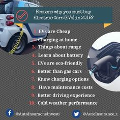 Electric cars are cheap,Eco-friendly and better than gas cars. Electric Cars are the future of auto Reasons why you must buy Electric Cars in Low Car Insurance, Eco Friendly Cars, Auto News, Automobile Industry, Electric Cars, You Must, Budgeting, Vehicle, Environment