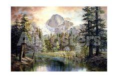 Natures Wonderland by Brent Bergherm Landscapes Giclee Print - 61 x 41 cm