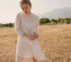 PAIX DRESS -- SALT