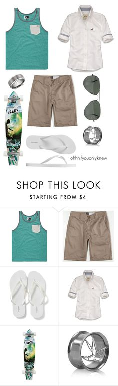 """Untitled #112"" by ohhhifyouonlyknew ❤ liked on Polyvore featuring Volcom, RVCA, Old Navy, Hollister Co., Ray-Ban, Blue Nile, summer, dream closet, awesome and casual"