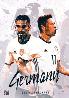 Germany : Die Mannschaft = The Team! Germany Football Team, Fifa Football, Football Memes, Football Posters, Football Art, World Cup 2018 Teams, Fifa World Cup, Albert Camus, Fifa Teams