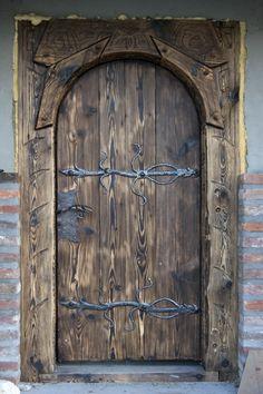 antique front doors handmade by www.zagorskikuznia.pl