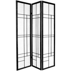 A contemporary variation of Edo period room dividers, the Oriental Furniture Eudes Shoji Screen Room Divider features a geometric lattice, almost. Fabric Room Dividers, Bamboo Room Divider, 4 Panel Room Divider, Hanging Room Dividers, Sliding Room Dividers, Wall Dividers, Divider Cabinet, Temporary Room Dividers, Portable Room Dividers