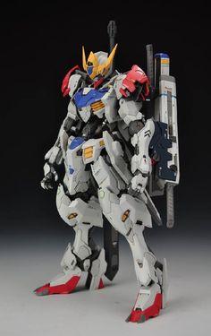 www.pointnet.com.hk - 堅靚!! 改裝作品 1/100 Gundam Barbatos Lupus