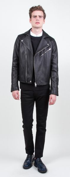 ACNE - Gibson Leather Jacket