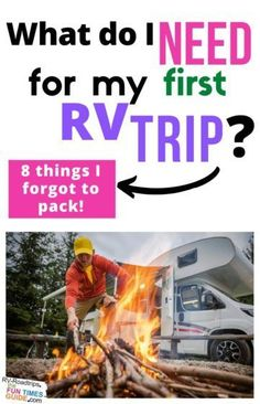 I recently got a good deal on an RV -- and I couldn't wait to hit the dusty trail and unplug for a few days! As a first-time RVer, there were a few things that I had overlooked. Take it from me, here are 8 must-have RV supplies you'll want to take on your first RV trip... things I wish I had remembered to pack! rv camping | first rv trip | new rv | rving | camping tips Rv Camping, Camping Hacks, Rv Hacks, Travel Hacks, Travel Tips, Truck Pulls, Travel Supplies, Take Off Your Shoes, Airline Travel
