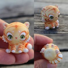 Sweet Little Tiger Cub by TheLittleMew on Etsy