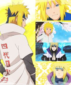 #mianto #namikaze #yellow #flash #yondaime #fourth #hokage #handsome