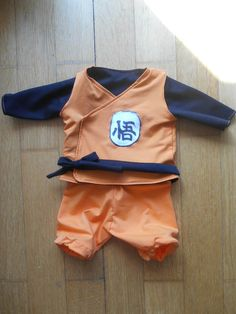 Bébé Sangoku, déguisement dragon ball Z